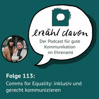 Comms for Equality: wie wir inklusiv und gerecht kommunizieren können