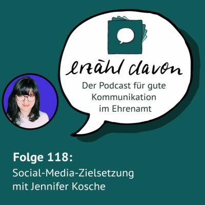 Social-Media-Zielsetzung mit Jennifer Kosche