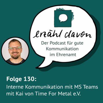 Interne Vereinskommunikation mit MS Teams mit Kai von Time for Metal e.V.