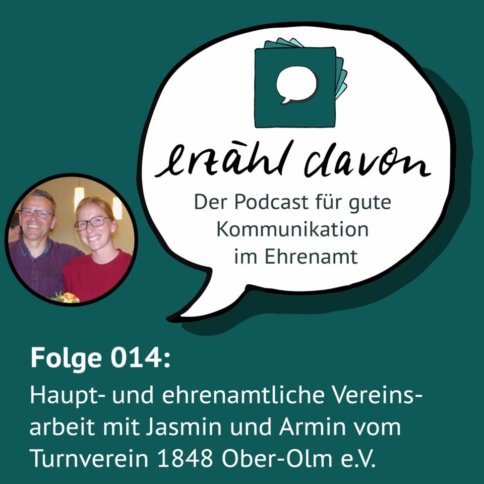 Folge 014: Haupt- und ehrenamtliche Vereinsarbeit mit Jasmin und Armin vom TV Ober-Olm