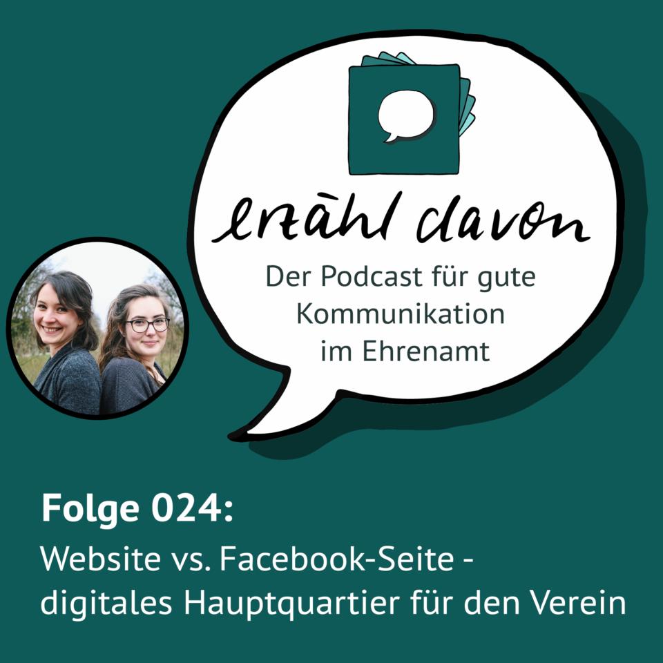 Folge 024: Website vs. Facebook-Seite – digitales Hauptquartier für den Verein