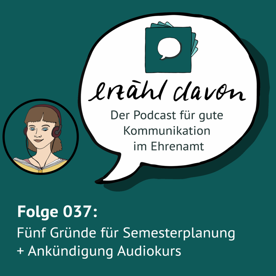 Folge 037: Planung fürs Sommersemester + Audiokurs