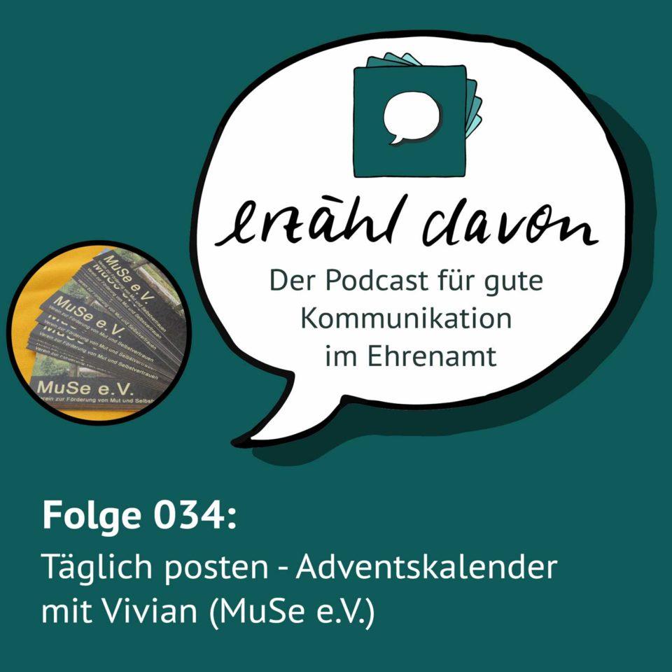 Folge 034: Täglich posten: Adventskalender mit Vivian (MuSe e.V.)