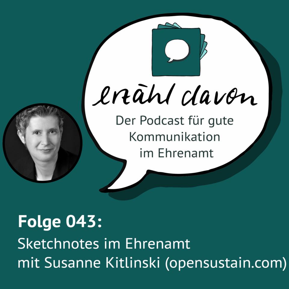 Folge 043: Sketchnotes im Ehrenamt mit Susanne Kitlinski (opensustain.com)