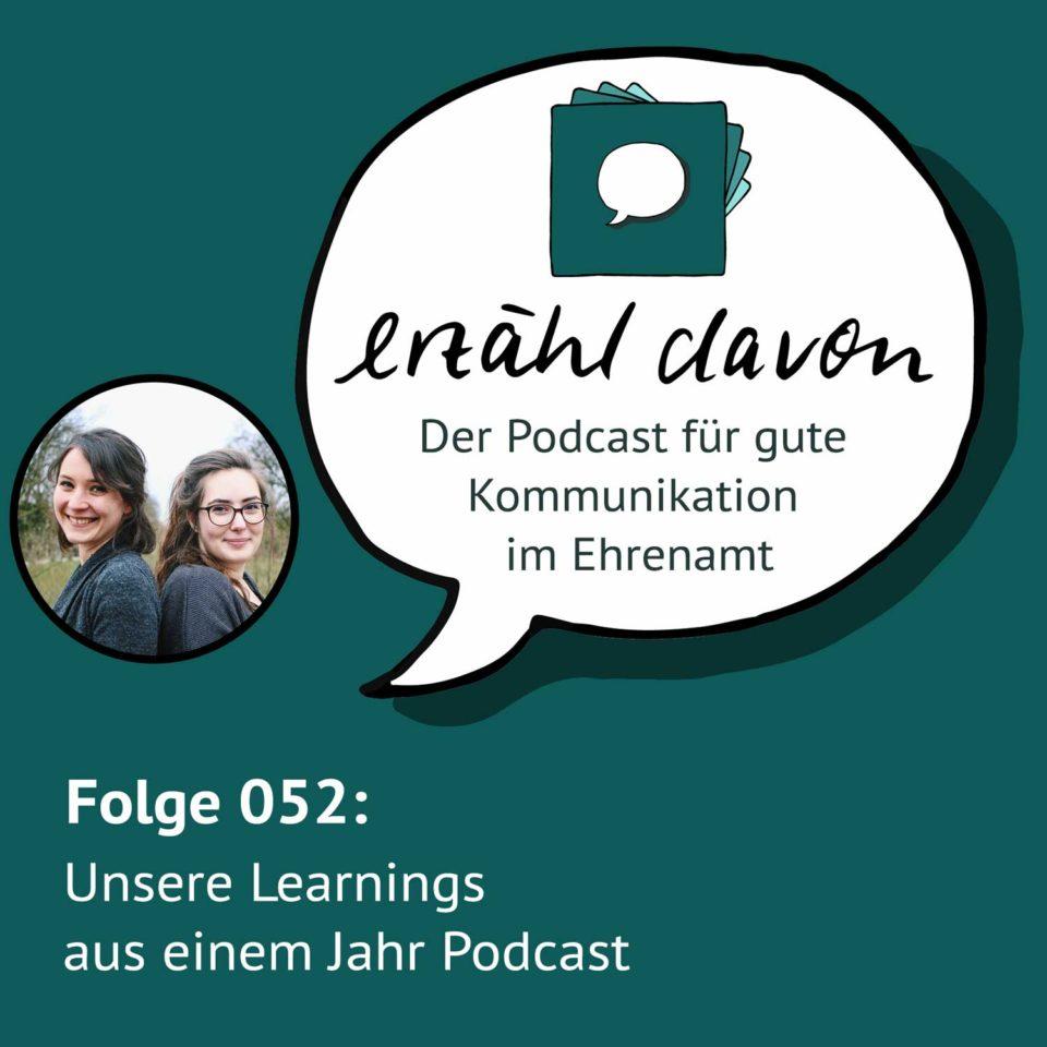 Folge 052: Unsere Learnings aus einem Jahr Podcast