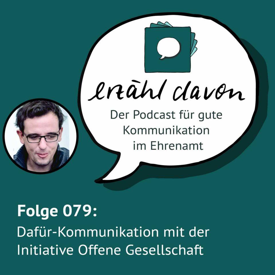 Dafür-Kommunikation mit der Initiative Offene Gesellschaft