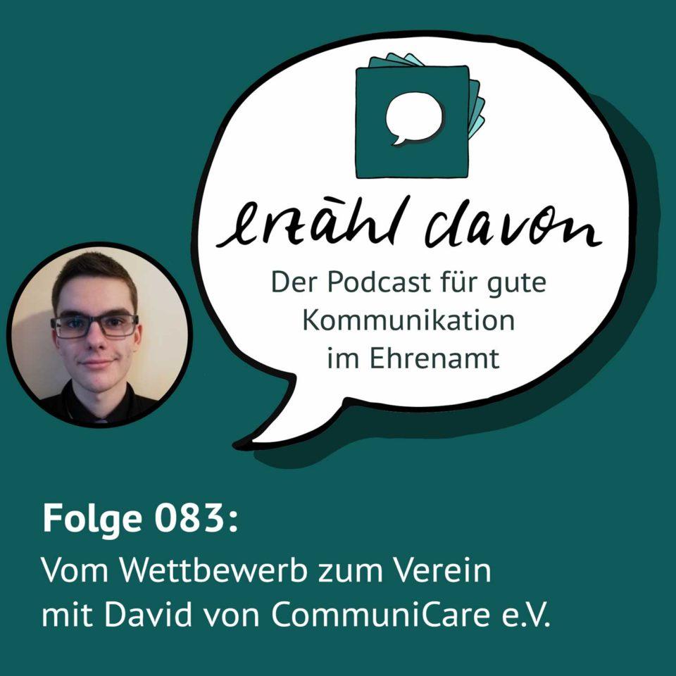 Vom Wettbewerb zum Verein mit David von CommuniCare e.V.